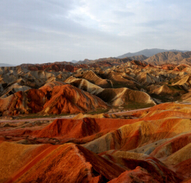 1-DAY Zhangye Danxia Lanform Day Tours