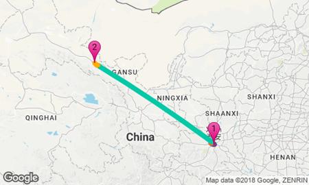 How To Get From Xian To Zhangye Danxia