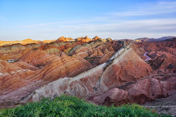 Xian to Zhangye Danxia Landform Tours